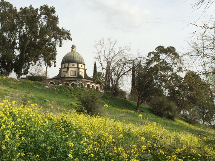 Mount of the Beatitudes in Galilee