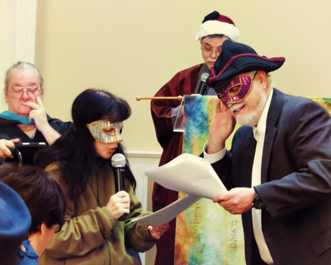 Purim spiel at a Messianic congregation
